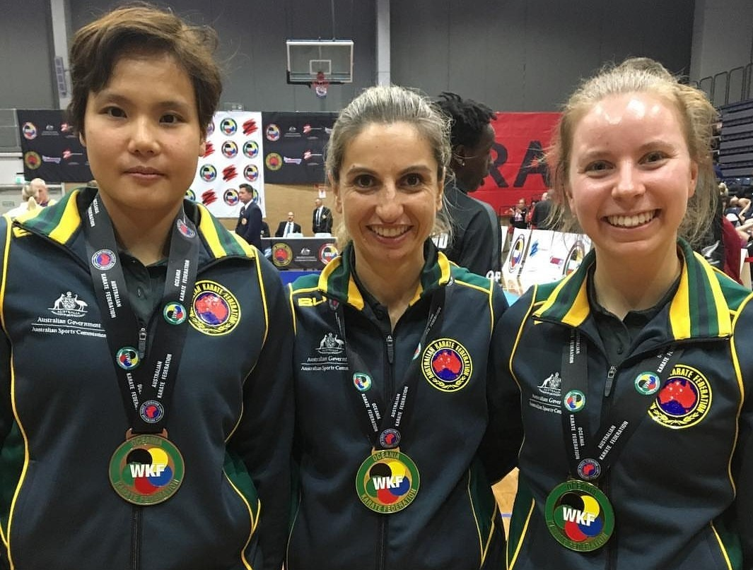 Australia puts on a show at the Oceania Championships