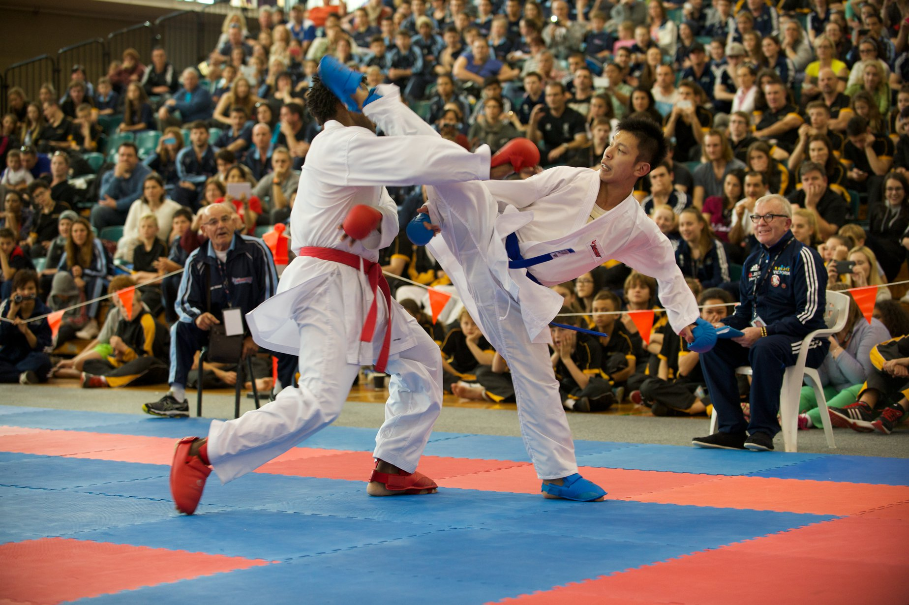 Karate talent shines at National Championships